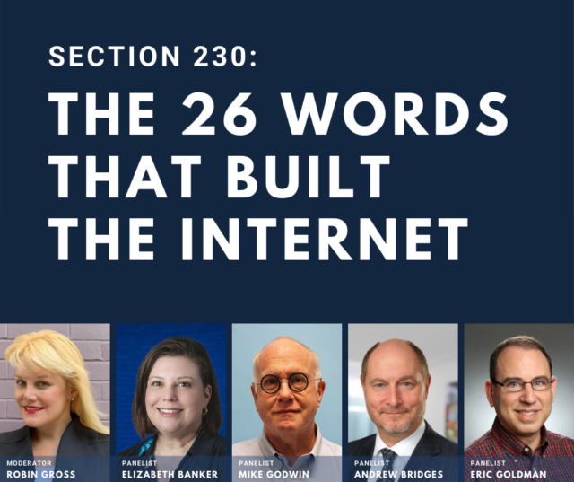 """""""The 26 Words That Built the Internet"""""""